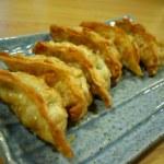 Deep fried dumpling, Gyoza, Japanese food. — Stock Photo #56617639