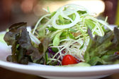 Fresh vegetable salad dish. — Foto Stock