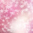 Star on pink and white, abstract bokeh background. — Stock Photo #56629987