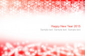 Abstract red and white christmas background. — Foto de Stock