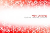 Abstract red and white christmas background. — Stock Photo