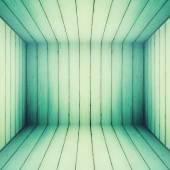 Grunge retro wooden room texture background. — Stock Photo