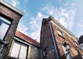 Medieval houses in Bruges town, West Flanders — Stock Photo