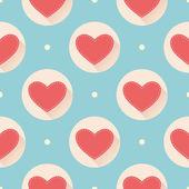Patroon voor valentines day — Stockvector