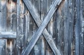 Rough old discolored wooden texture — Stock Photo