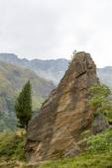 Idyllic alpine landscape at austria — Stock Photo