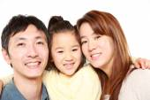 Japanese Parent And Daughter — Foto de Stock