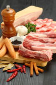 Various pork — Stock Photo