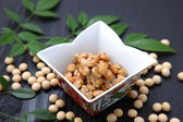Japanese traditional food NATTO — Stock Photo