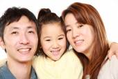 Japanese Parent And Daughter — Stock Photo