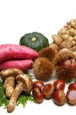 Autumn foods — Stock Photo