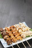 Japanese chicken BBQ  yakitori — Stock Photo