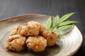 Japanese style fried chicken — Stock Photo