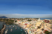 Corricella, Procida — Stock Photo