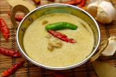 Thai green curry — Stock Photo