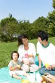 Familiy Picnic — Stock Photo