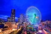 Yokohama at dusk — Stock Photo