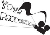 Projector Your Production — ストックベクタ