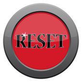 Reset Dark Metal Icon — Stock Vector