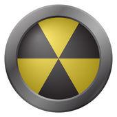 Hazard Warning Icon — Stock Vector