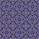 Abstract tileable seamless regular ornamental mosaic pattern — Stock Photo