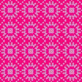 Hearts pattern on pink background — Stock Photo