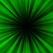 Deep green regular radial centralized background — Stock Photo