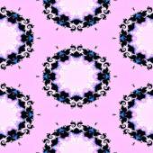Abstract seamless vintage fractal pattern — Stock Photo