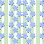 Seamless decorative flax flower bluish pattern — Stock Vector #69726875