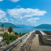 Montenegro, Herceg Novi, August 201 — Stock Photo