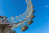 London Eye, February 2014 — Stock Photo
