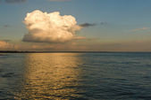 Tramonto sull'Oceano Atlantico — Foto Stock