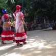 Colourful cuban ladies in Havana, Cuba — Stock Video #53642431