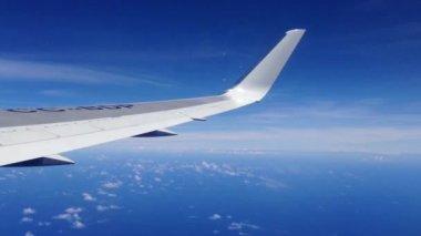 Lan airlines flyger från Påskön, rapa nui — Stockvideo
