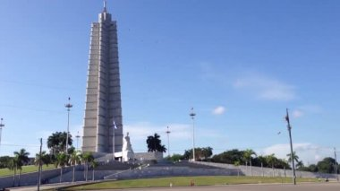 Revolution square in Havana, Cuba — Stockvideo