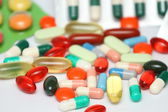 Píldoras de fondo — Foto de Stock