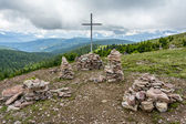 Stoanerne Mandln - South Tyrol (Stone Man) — Stock Photo