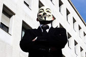 Anonymus-Maske — Stockfoto