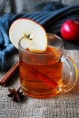 Gewürzten Apfelwein — Stockfoto