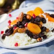 Plov or pilaf with dried fruits — Stock Photo #67208009