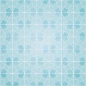 Abstract soft white and blue background with mosaic pattern — Stock Vector