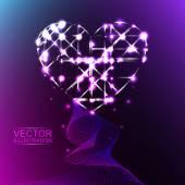 AbstractHeart3 — Stock Vector
