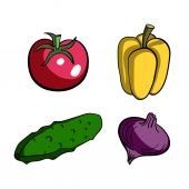 VegetablesVector — Stock Vector