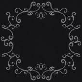 Chalk decorative frame — ストックベクタ
