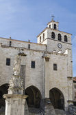 Santander cathedral — Stock Photo