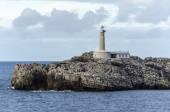 Lighthouse in Santander, Spain — Stock Photo