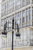 Architectural detail, Santander, Spain — Stock Photo