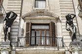 Architectural detail, Santander, Spain — Stok fotoğraf