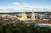 Medieval town view — Stock Photo