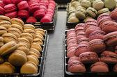 Macaroons in Paris — Stock Photo